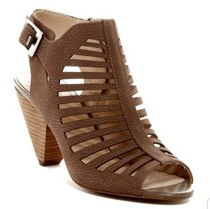 Vince Camuto Eliana caged tan sandals 11M
